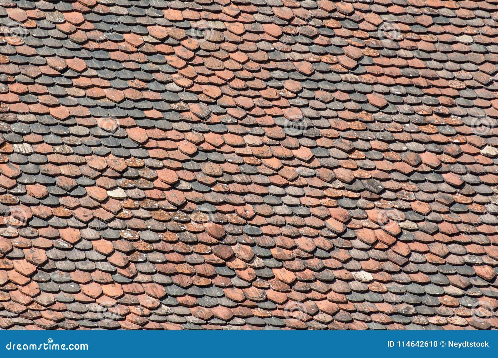 Terra Cotta Roof Tiles Texture Stock Photo - Image of pattern, stone