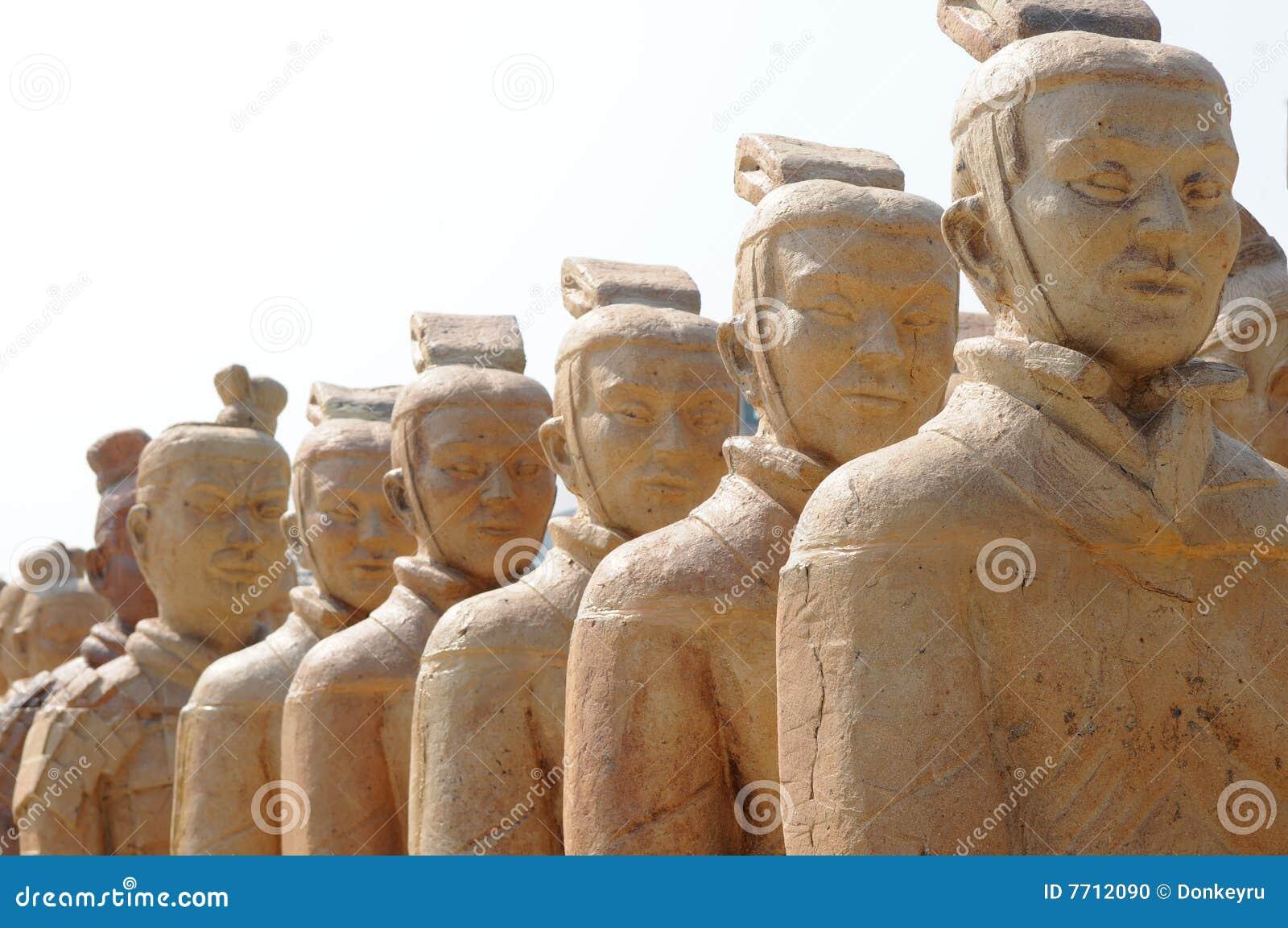The terra cotta warriors