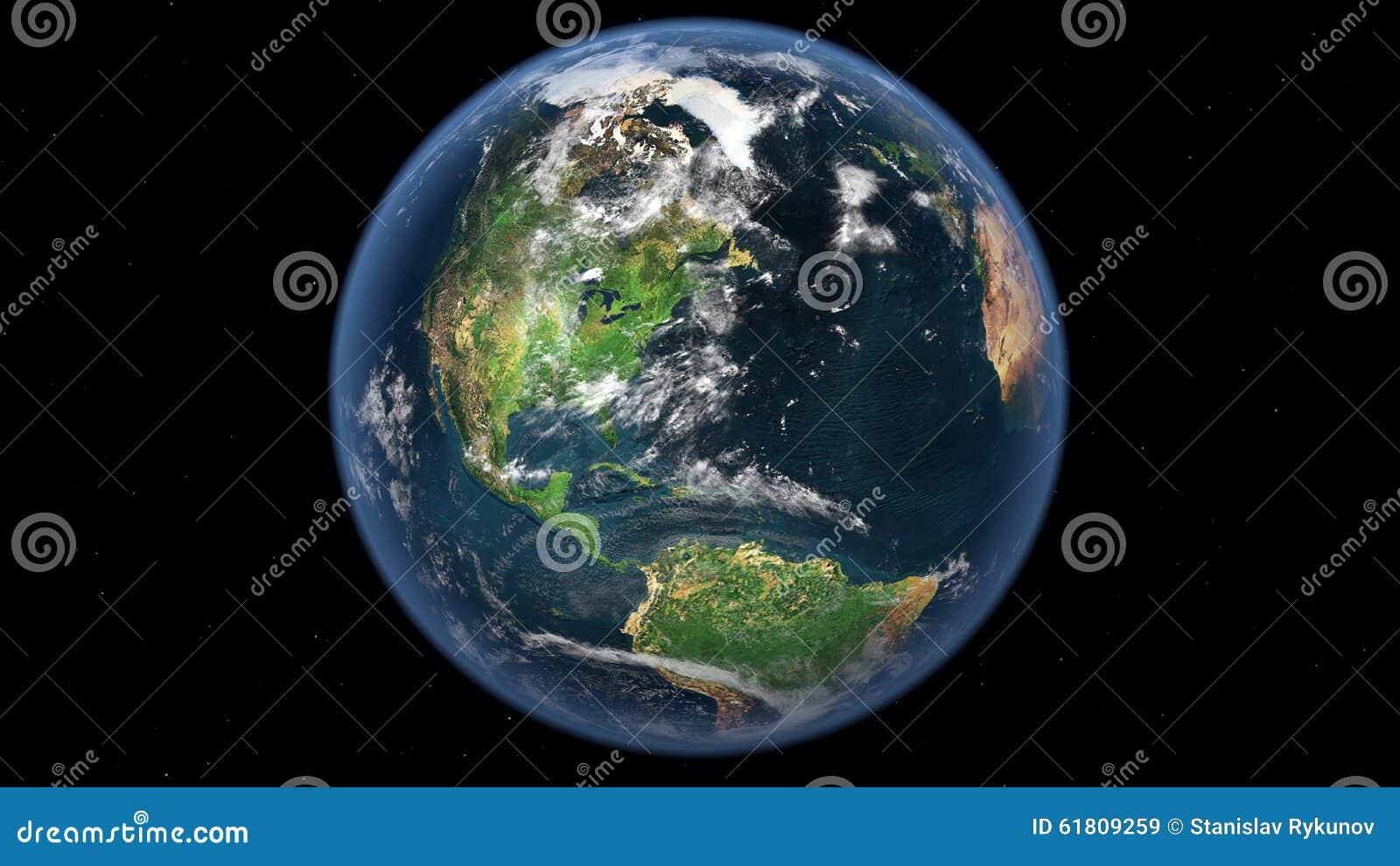 Terra da spazio cosmico