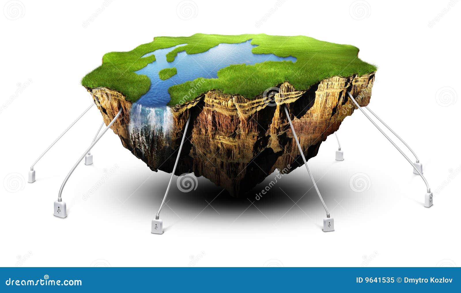 Terra de flutuação