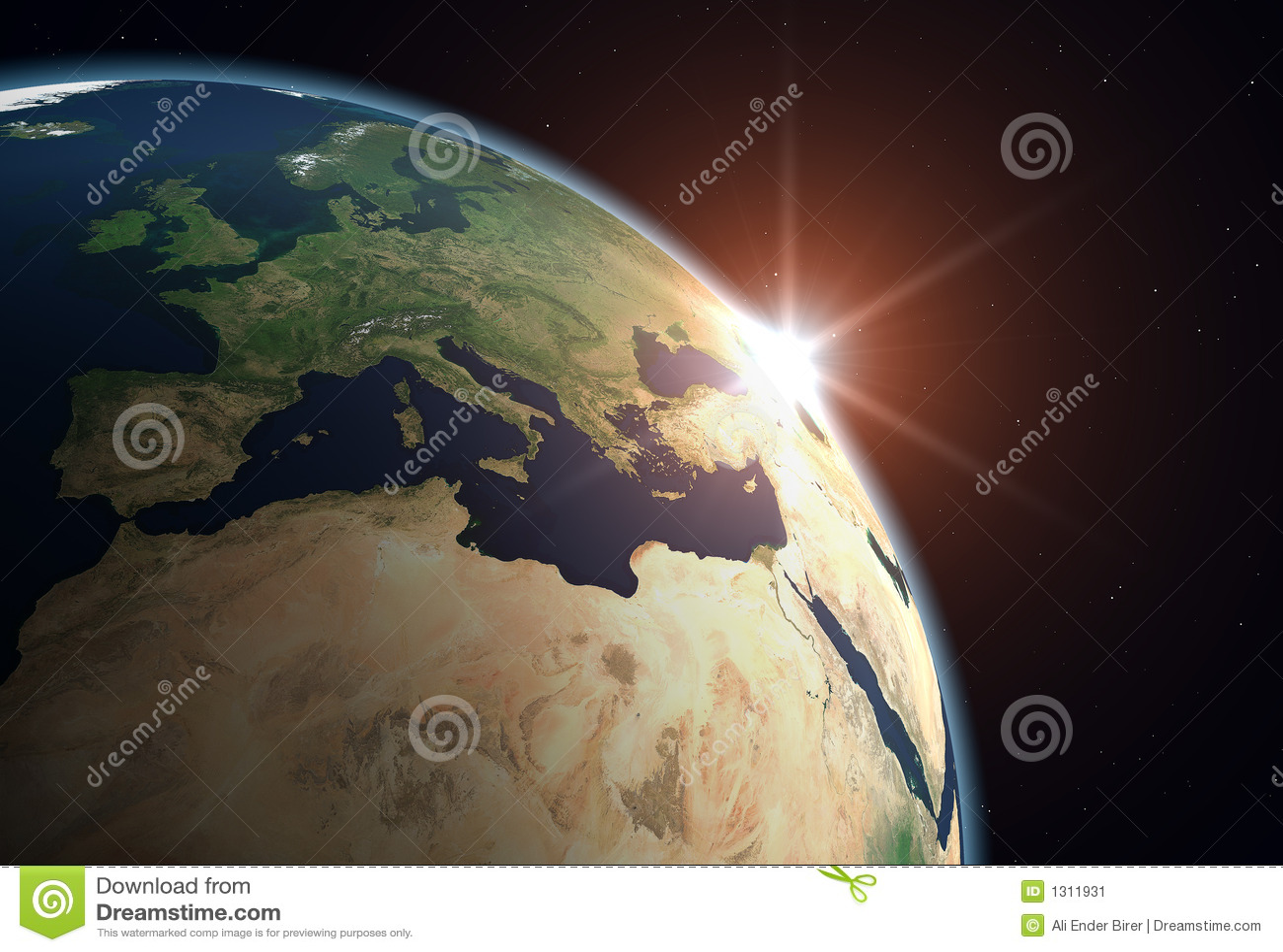Terra del pianeta - Europa
