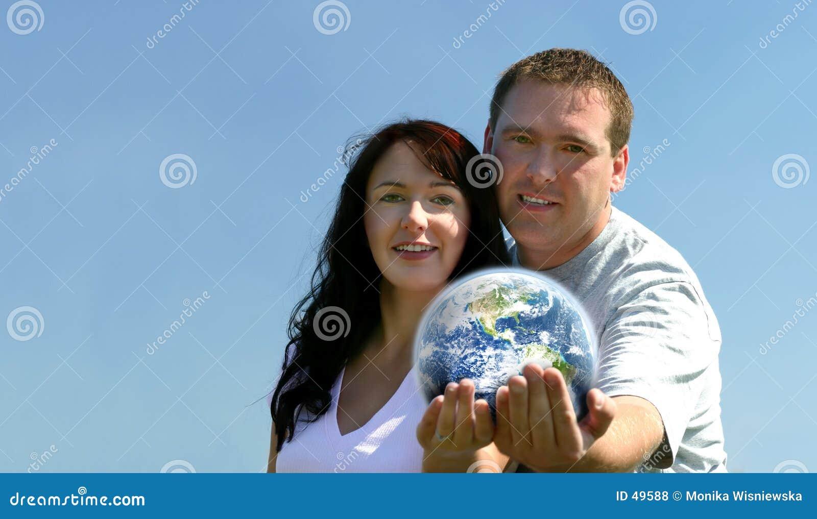 Terra della holding delle coppie
