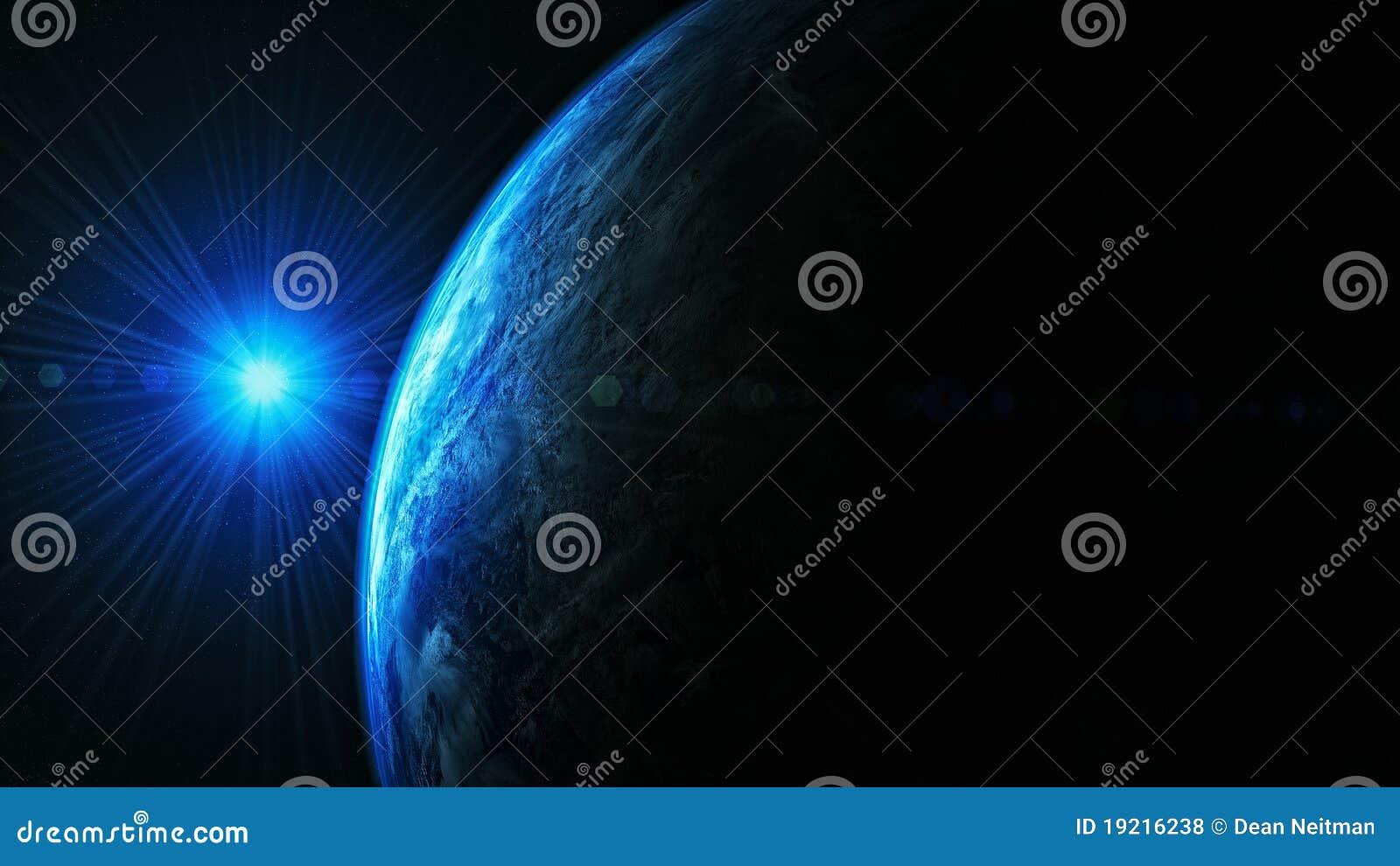 Terra do espaço