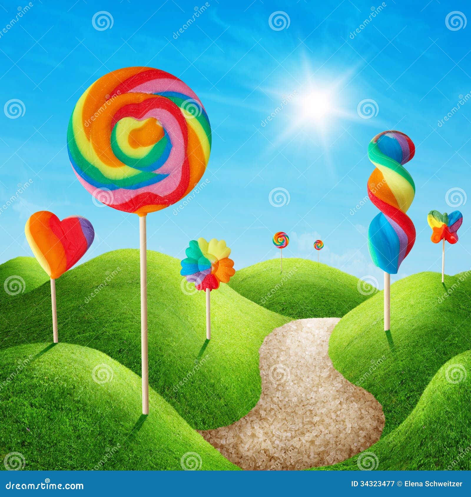 Terra dos doces