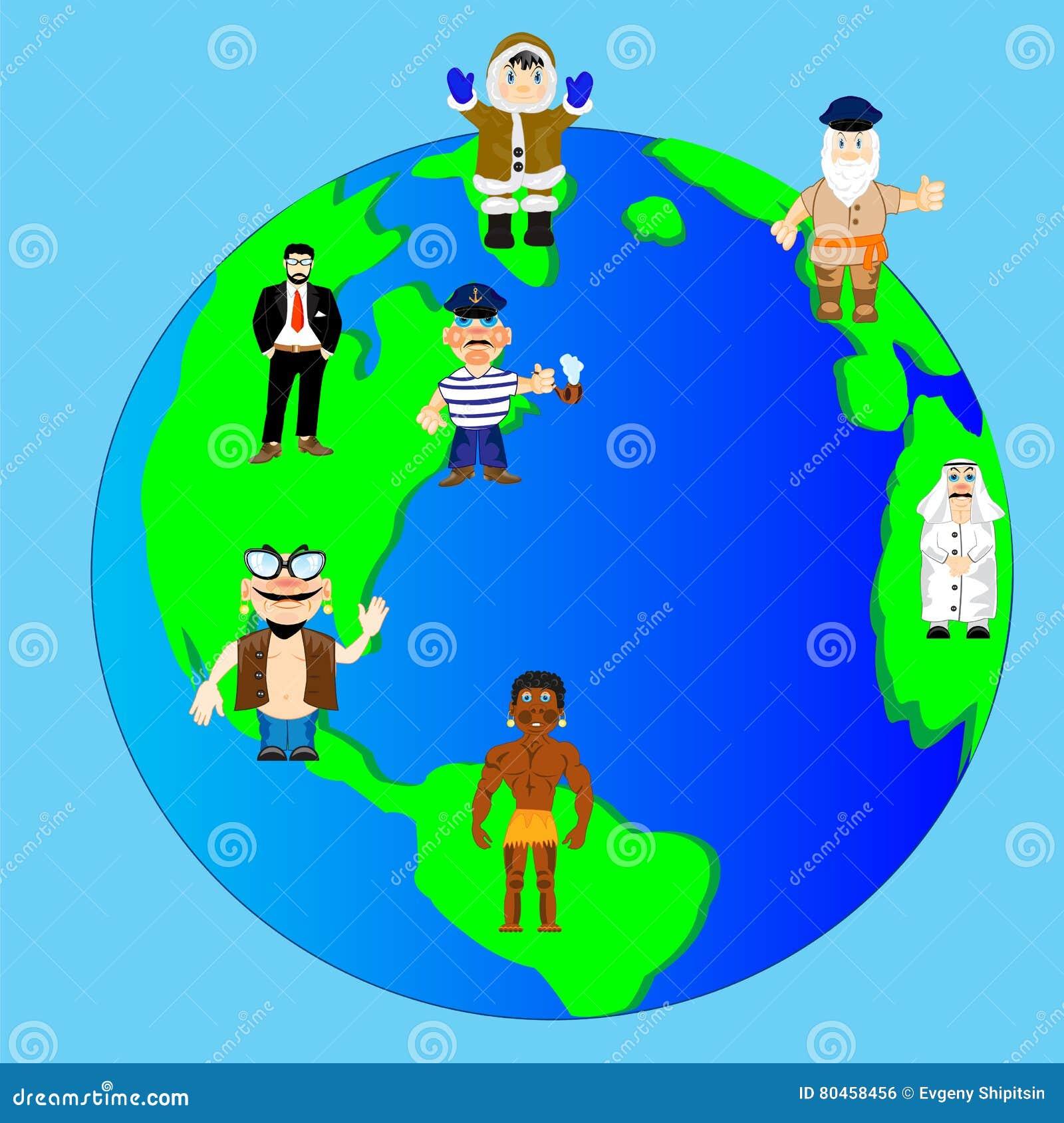 Terra e povos do planeta
