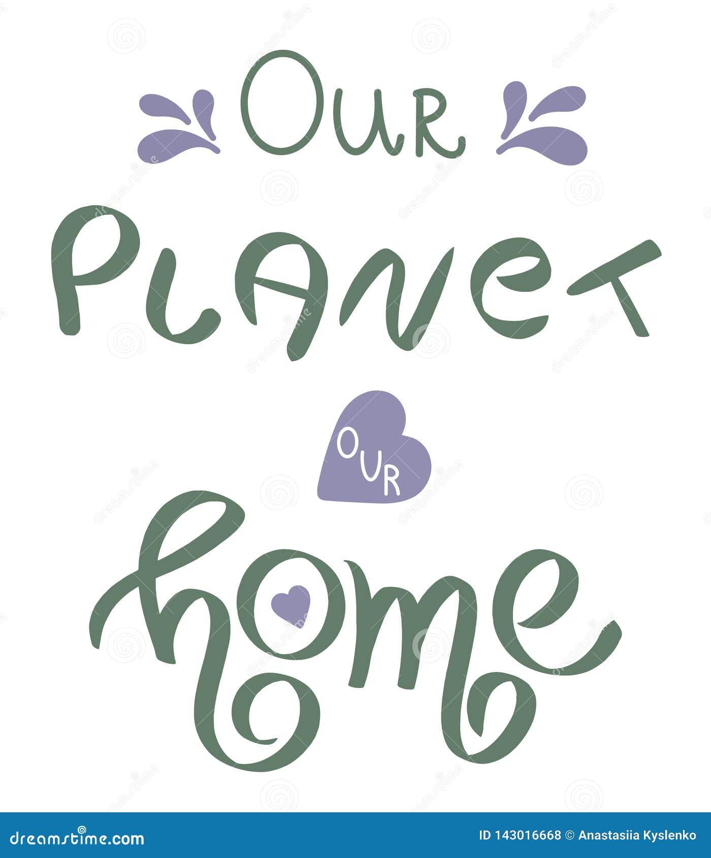Terra giorno 22 aprile felice scritto mano Frase scritta a mano concettuale Progettazione calligrafica indicata da lettere della