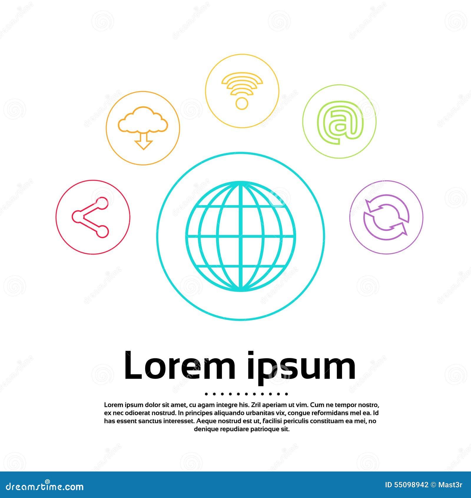Terra logo technologies da conexo do mundo do internet ilustrao download comp ccuart Gallery
