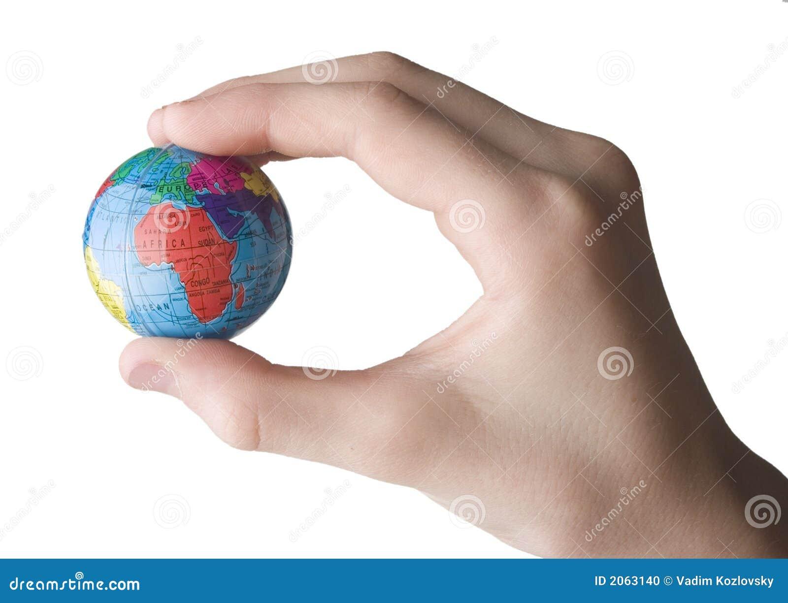 Terra na mão