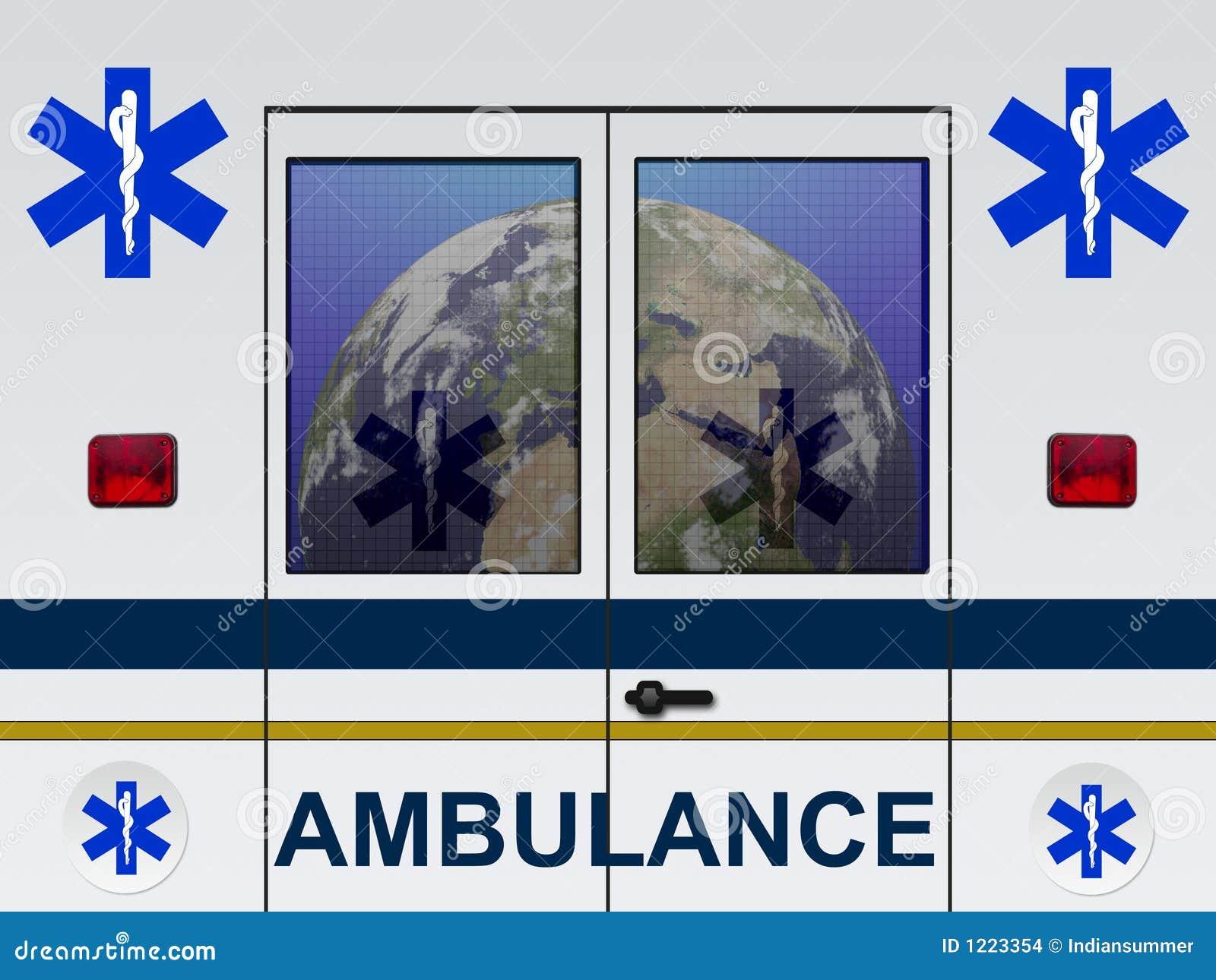 Terra nell ambulanza