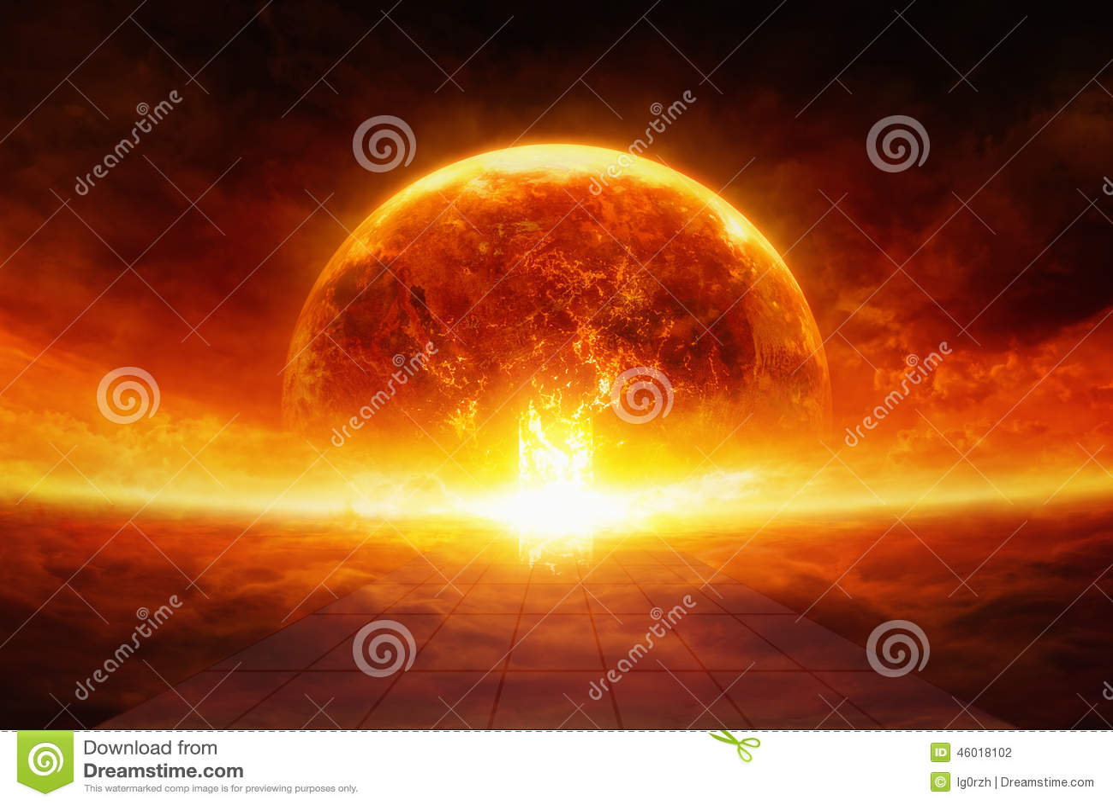 Terra nell inferno