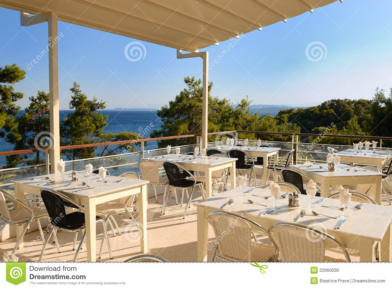 Terrace restaurant stock photo image 22060030 for Terrace bar grill