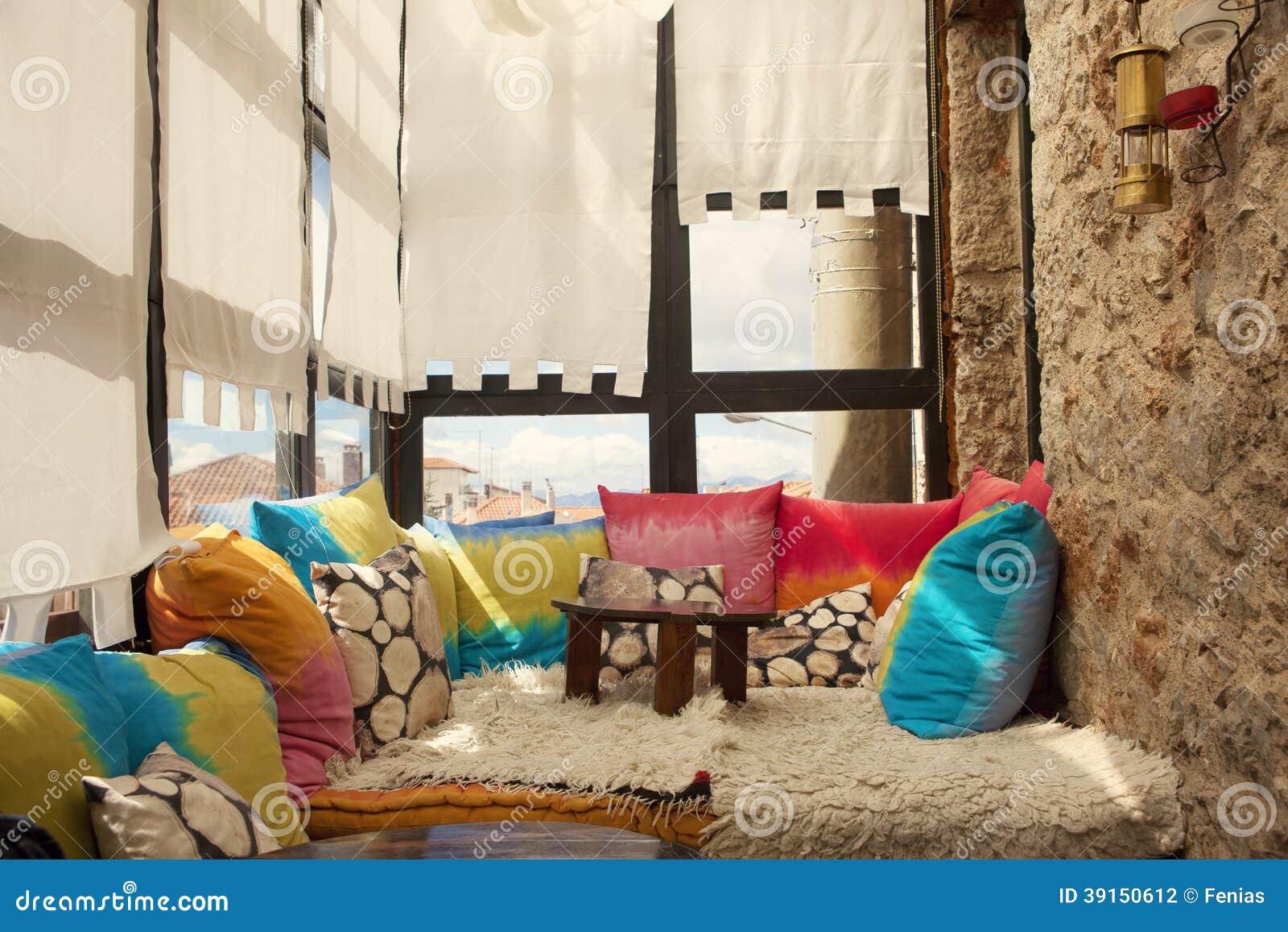 Terrace With Seats Stock Photo Image Of Patio Balcomy 39150612