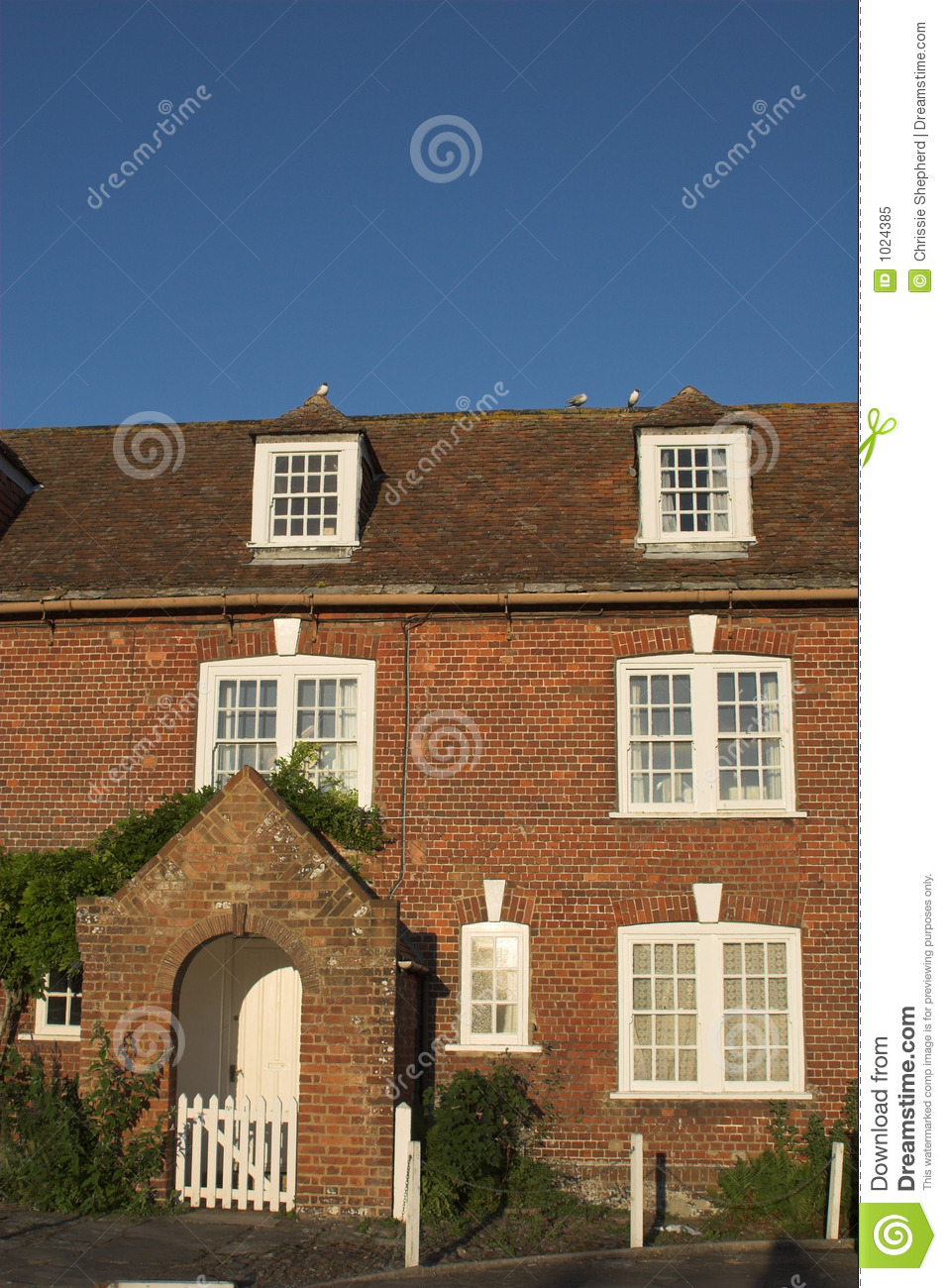 Terraced Cottage Royalty Free Stock Photo Image 1024385
