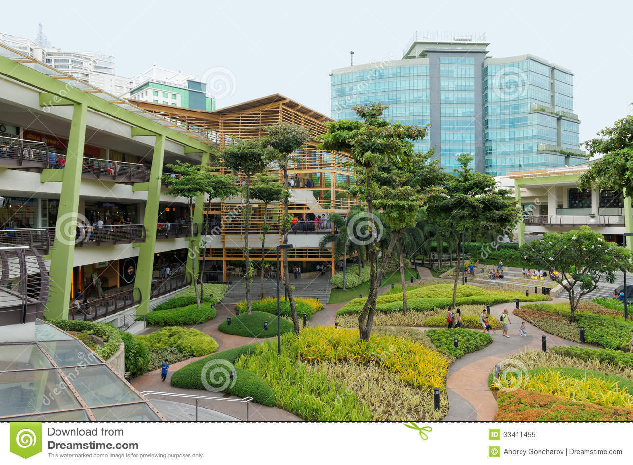 The terraces in ayala center cebu city philippines for Landscape design center