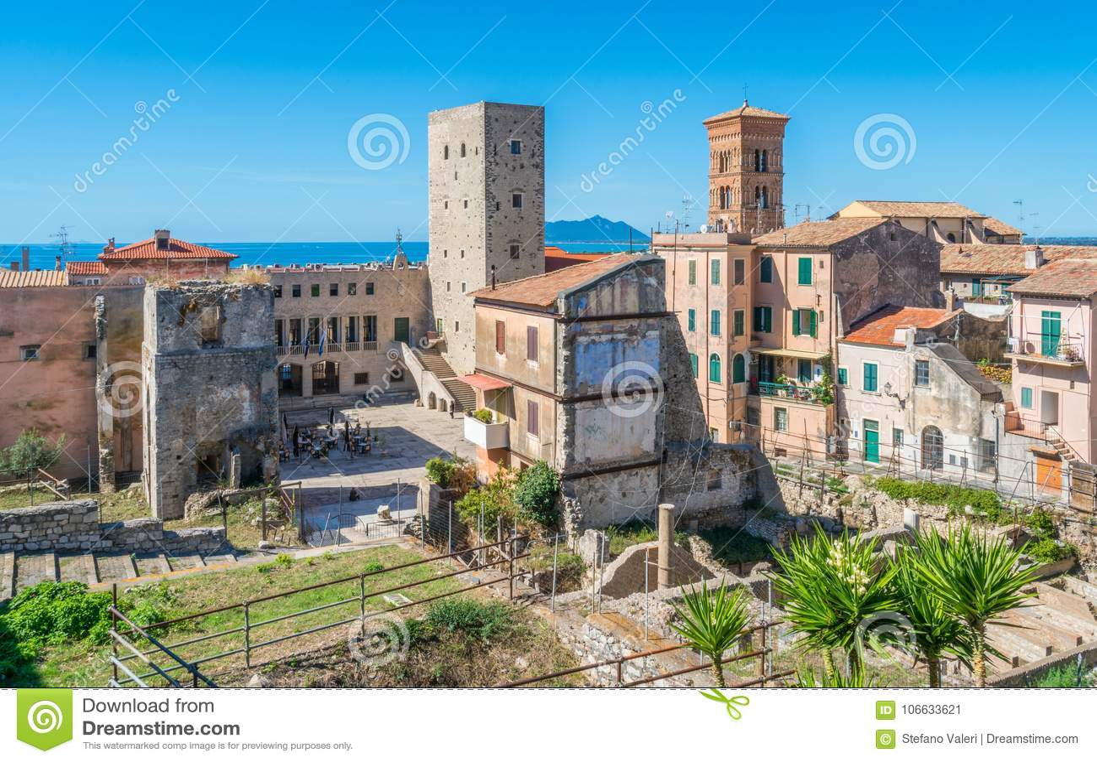 Scenic Sight In Terracina, Province Of Latina, Lazio ...