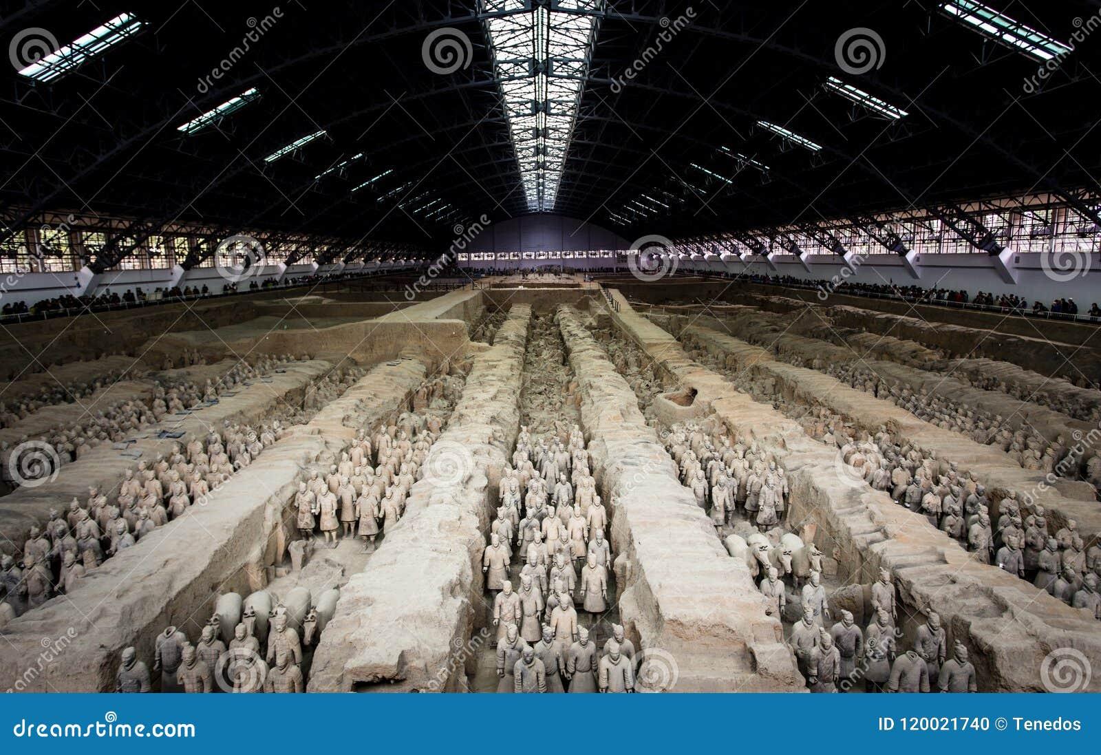 Terracota-Armee des ersten Kaisers von China