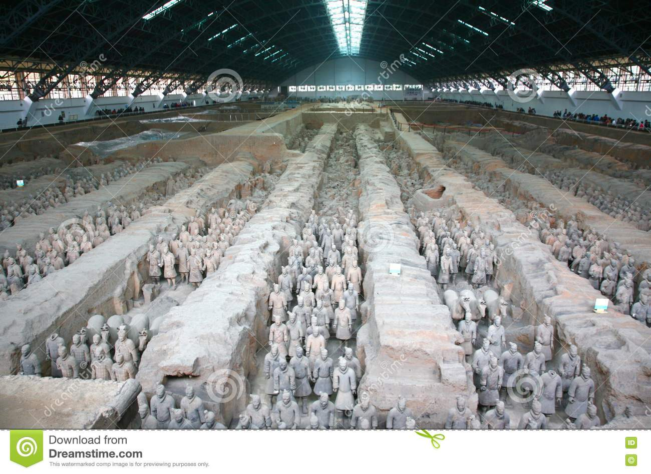 The Terracotta Army the first Emperor of China