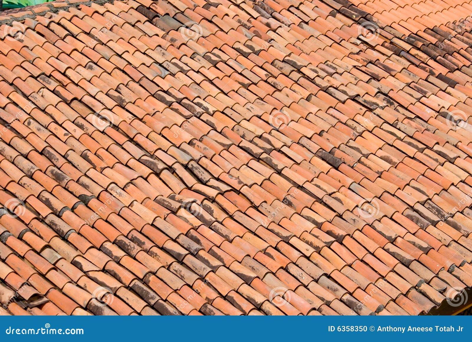 Terracotta Tile Roof Stock Photo Image Of Terracotta