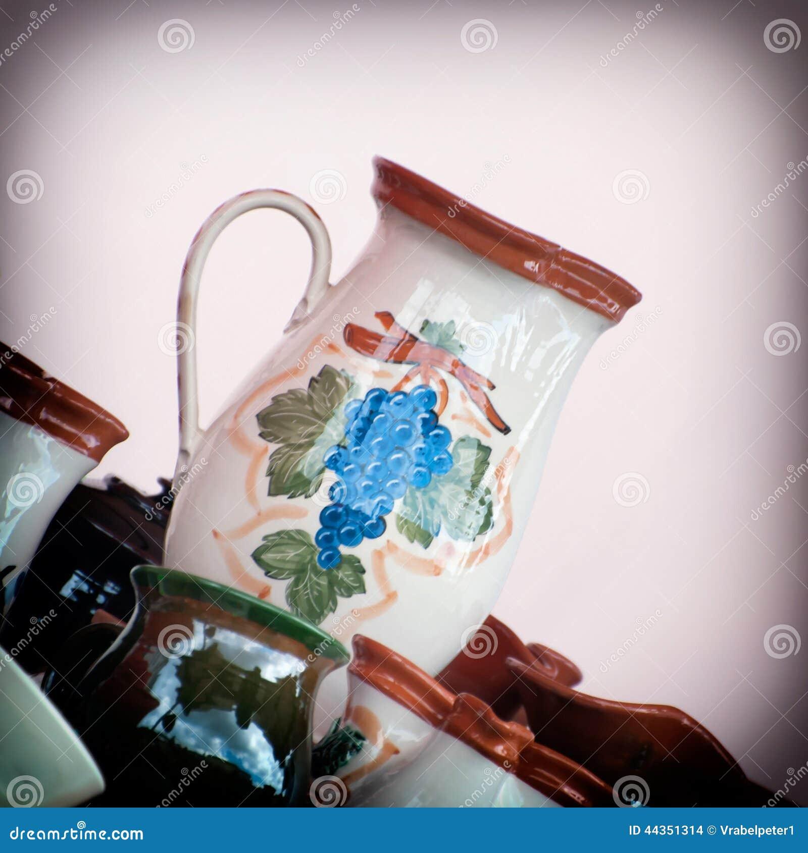 Terraglie ceramiche decorate da vendere