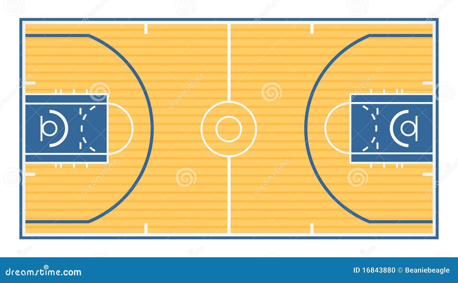 De De Basket Terrain VecteurDu Illustration Terrain OwZXiPTkul
