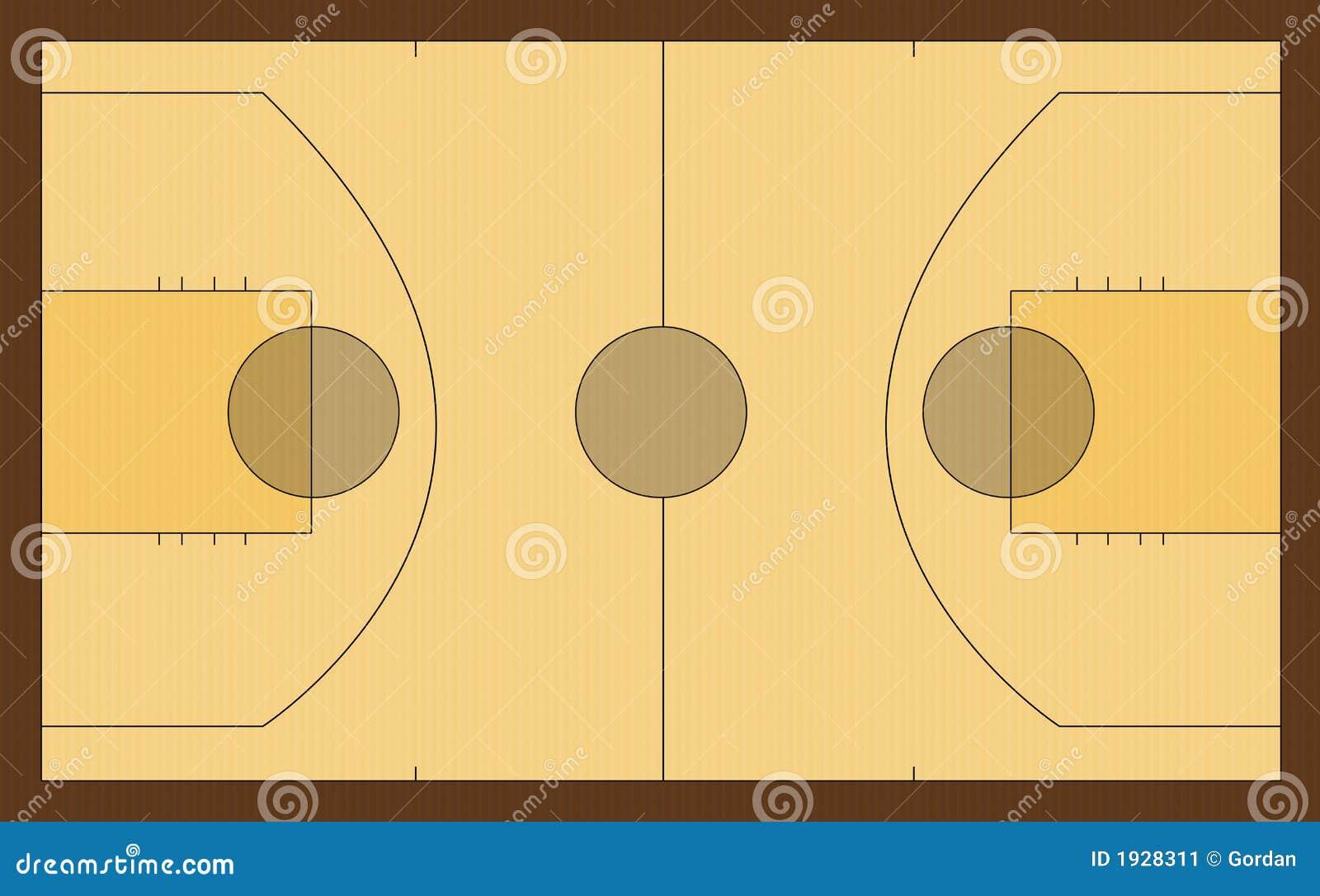 terrain de basket image stock image 1928311. Black Bedroom Furniture Sets. Home Design Ideas
