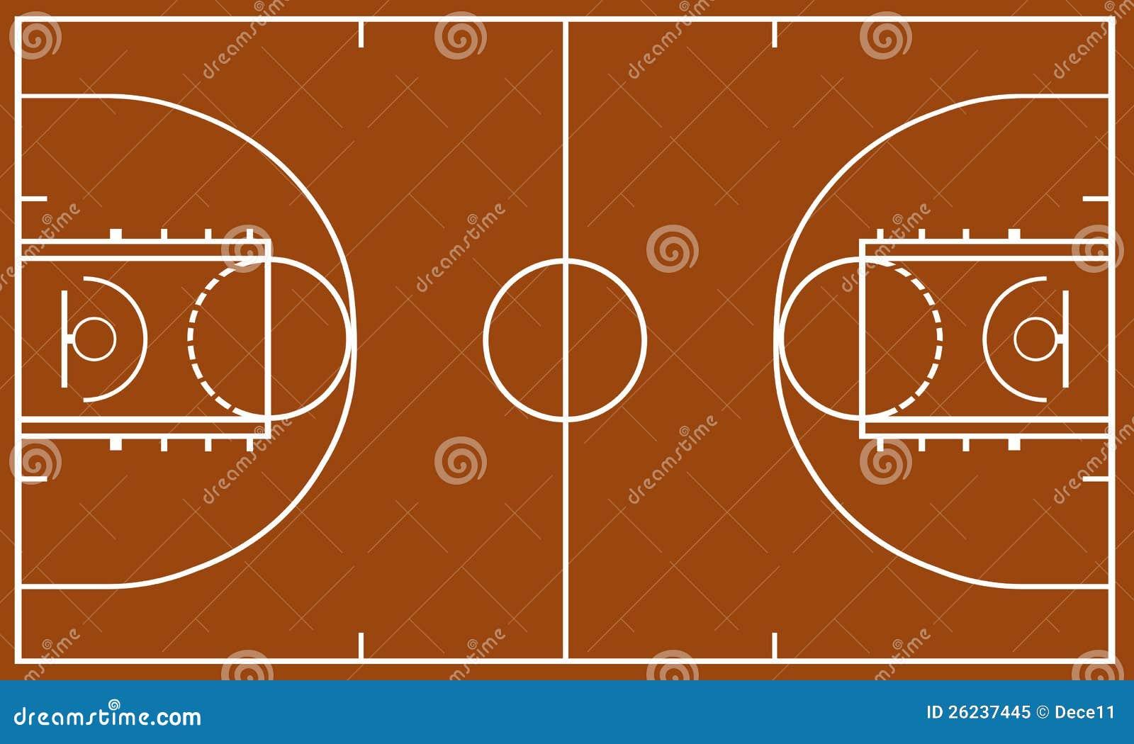 terrain de basket photo libre de droits image 26237445. Black Bedroom Furniture Sets. Home Design Ideas