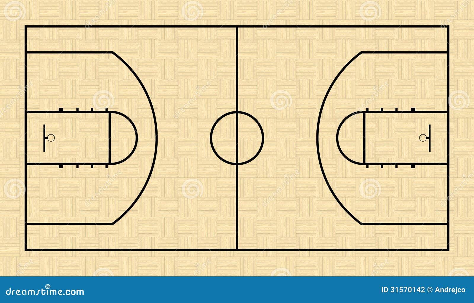 terrain de basket illustration de vecteur image du panneau 31570142. Black Bedroom Furniture Sets. Home Design Ideas