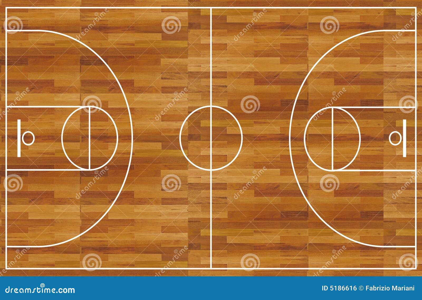 terrain de basket illustration stock illustration du isolement 5186616. Black Bedroom Furniture Sets. Home Design Ideas
