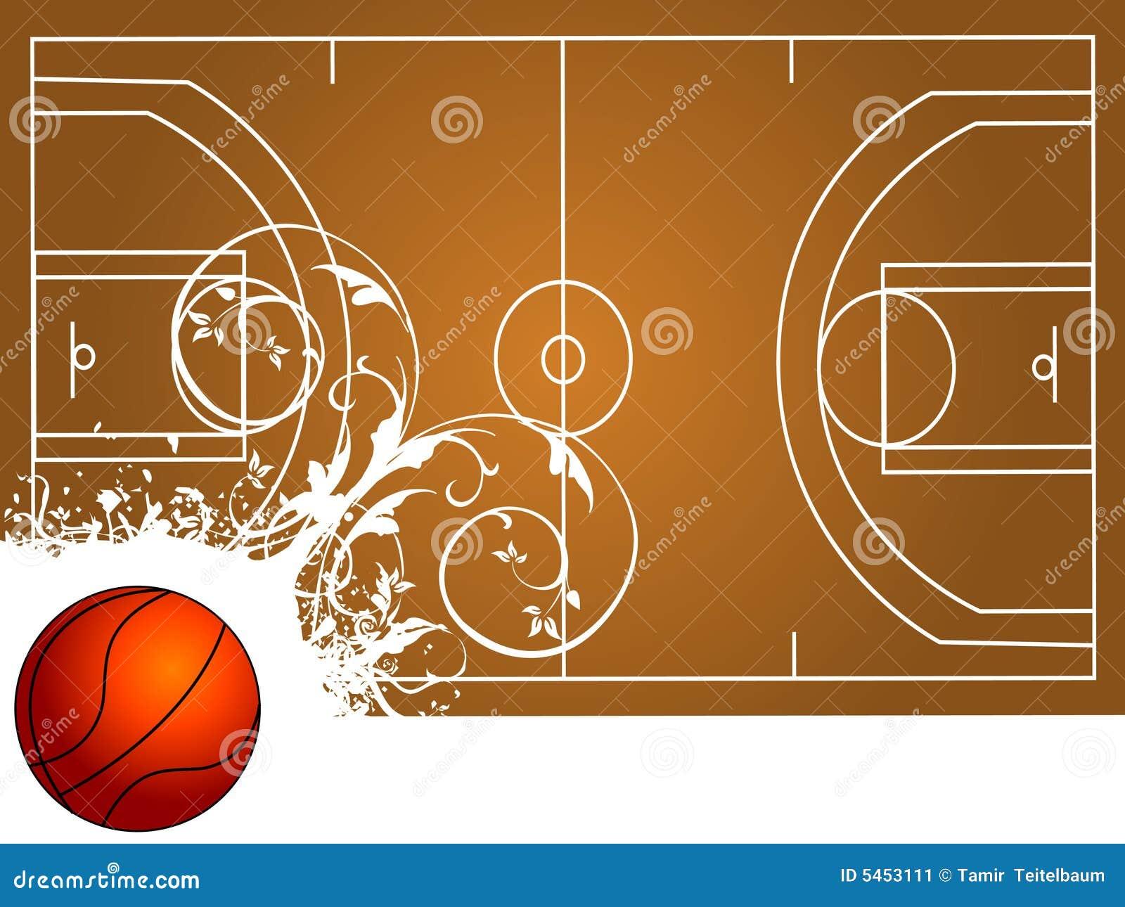Terrain de basket image stock image 5453111 for Terrain avec cu c est quoi