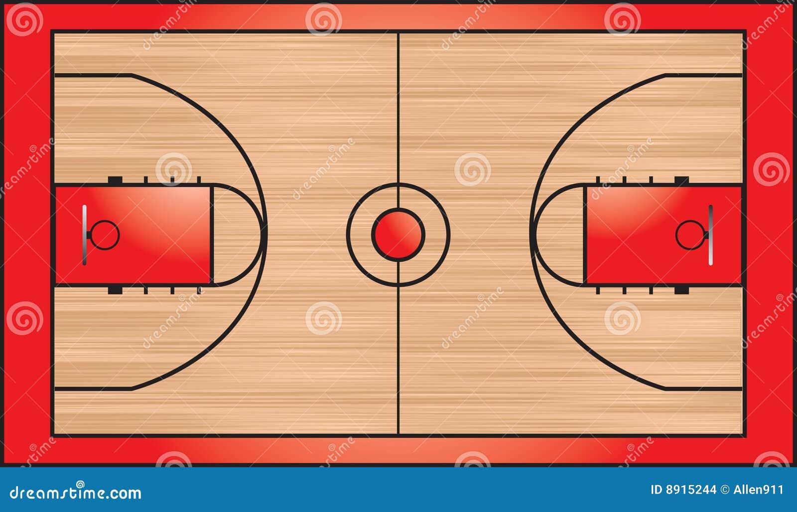 terrain de basket images stock image 8915244. Black Bedroom Furniture Sets. Home Design Ideas