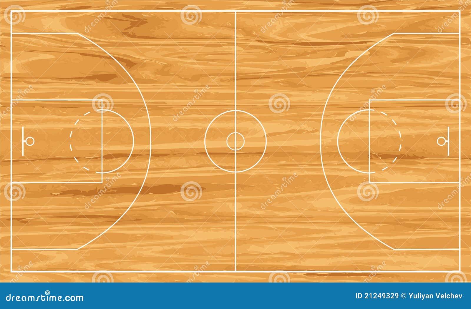 terrain de basket en bois images libres de droits image 21249329. Black Bedroom Furniture Sets. Home Design Ideas