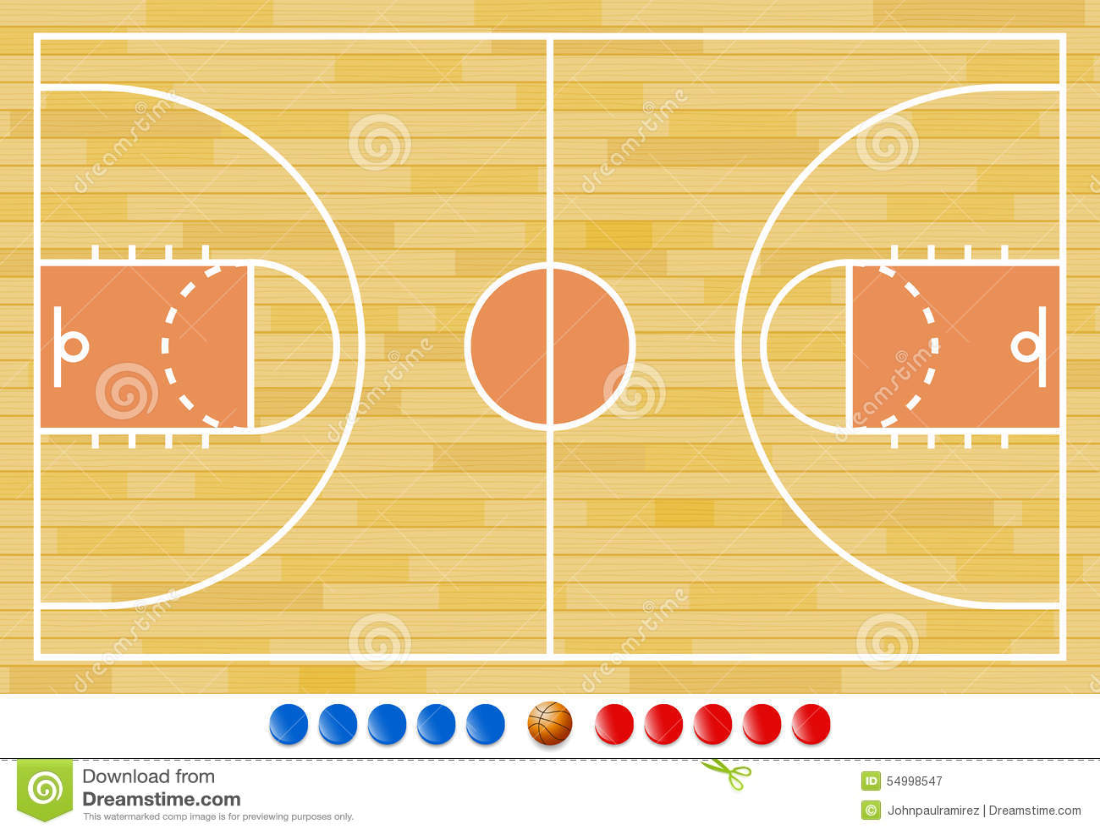 terrain de basket jeu de basket ball sport illustration de vecteur illustration du dessin. Black Bedroom Furniture Sets. Home Design Ideas