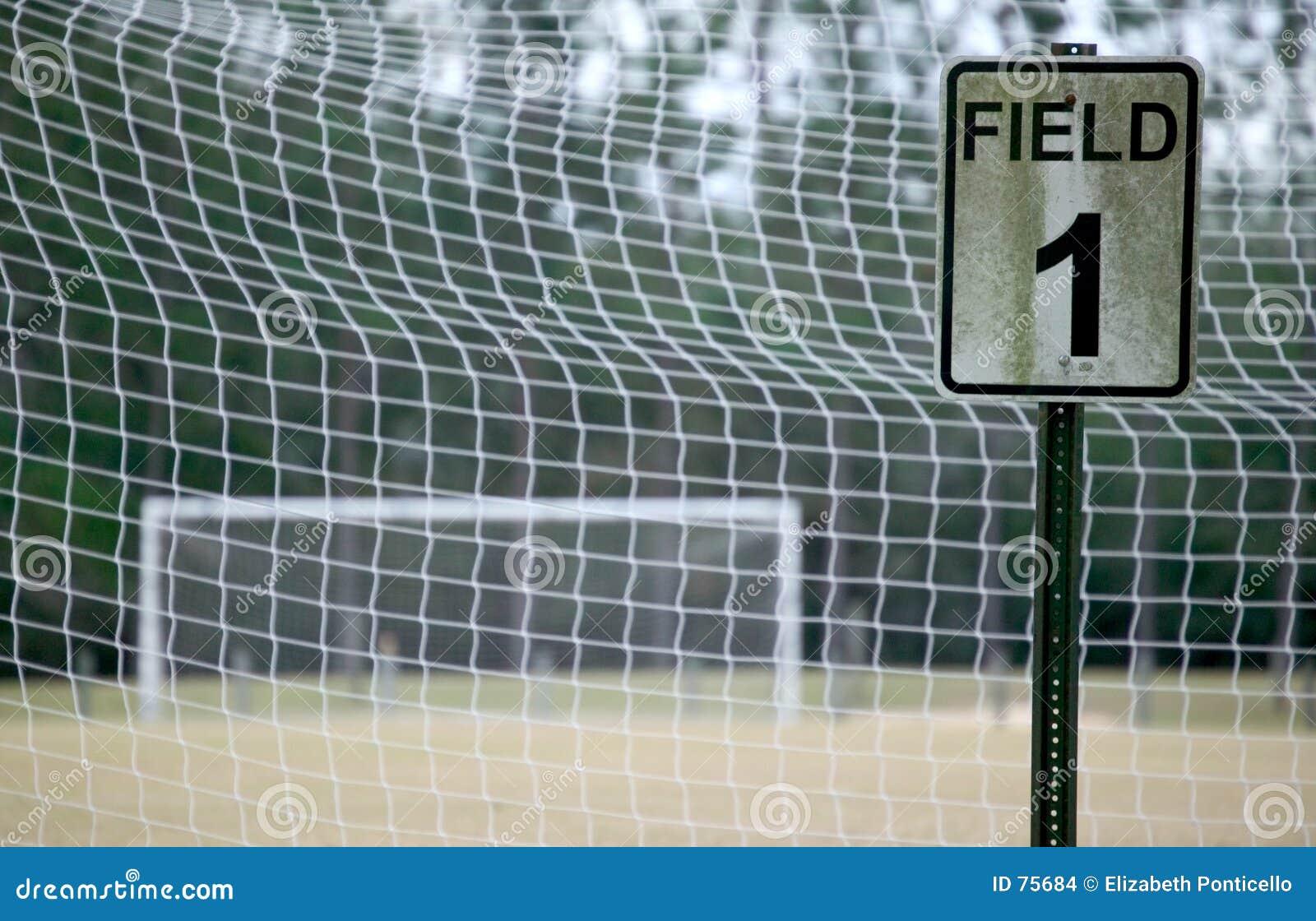 Terrain de football 1 - couleur