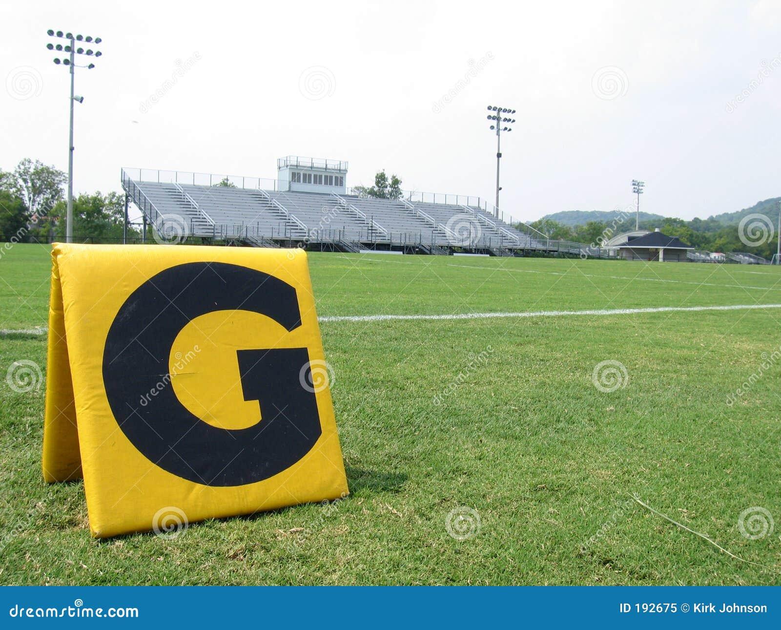 Terrain de football de lycée