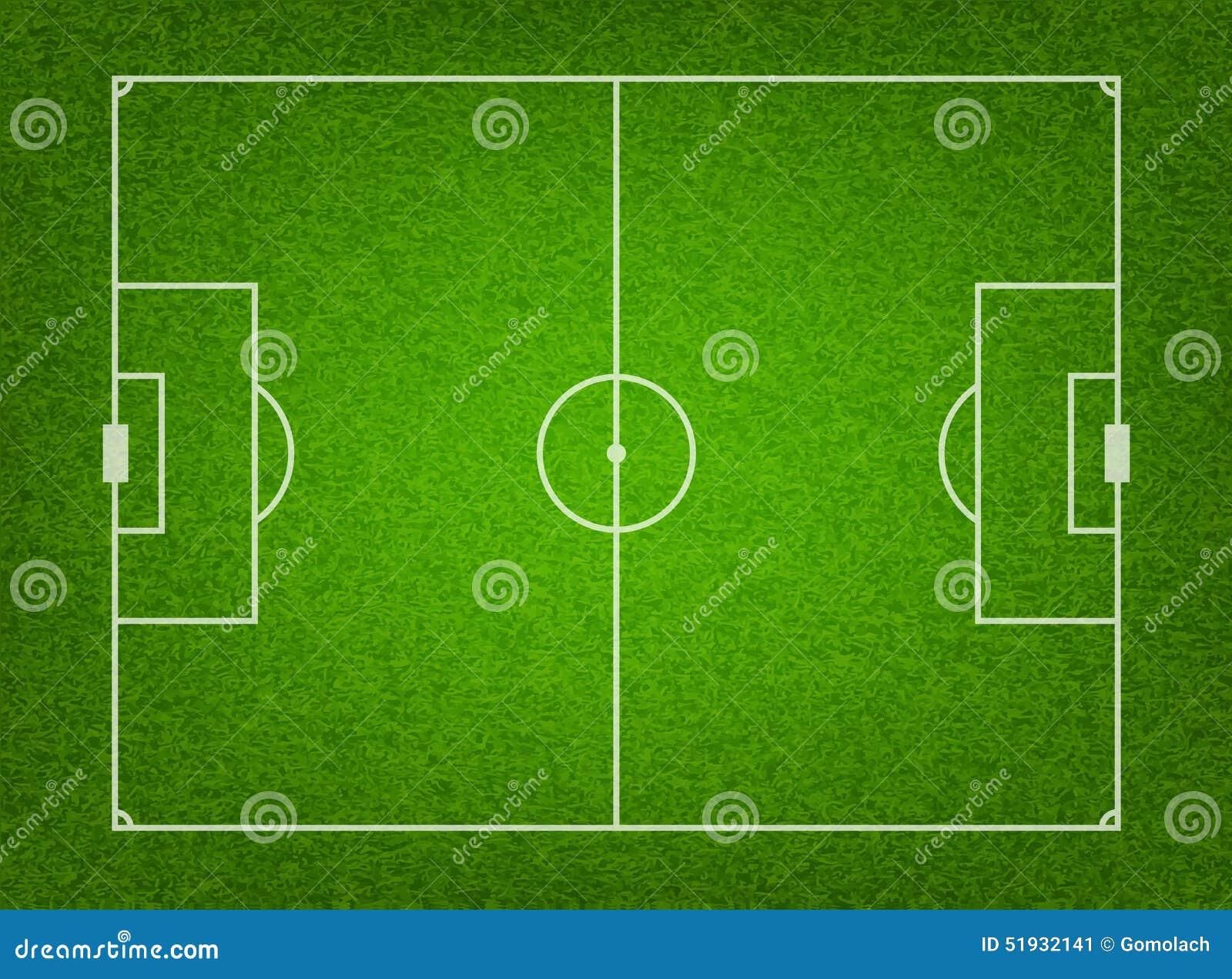 terrain de football texturis d 39 herbe illustration de vecteur illustration du football. Black Bedroom Furniture Sets. Home Design Ideas