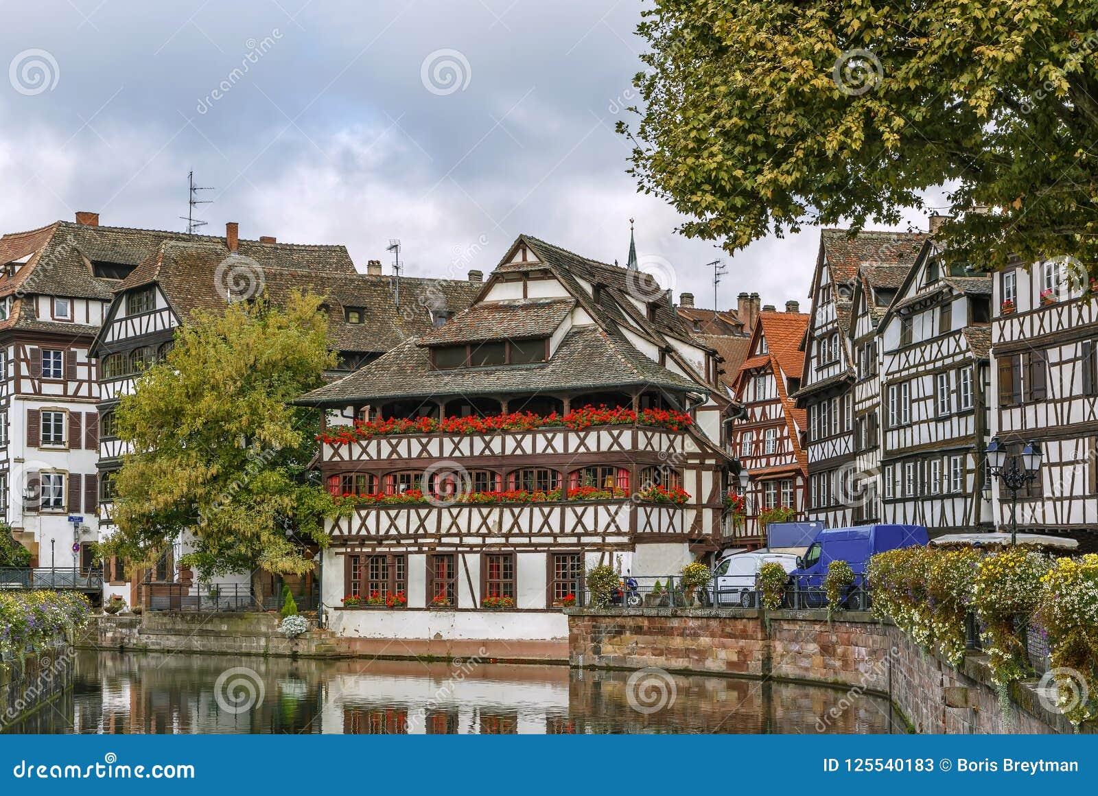 Terraplén del río enfermo, Estrasburgo