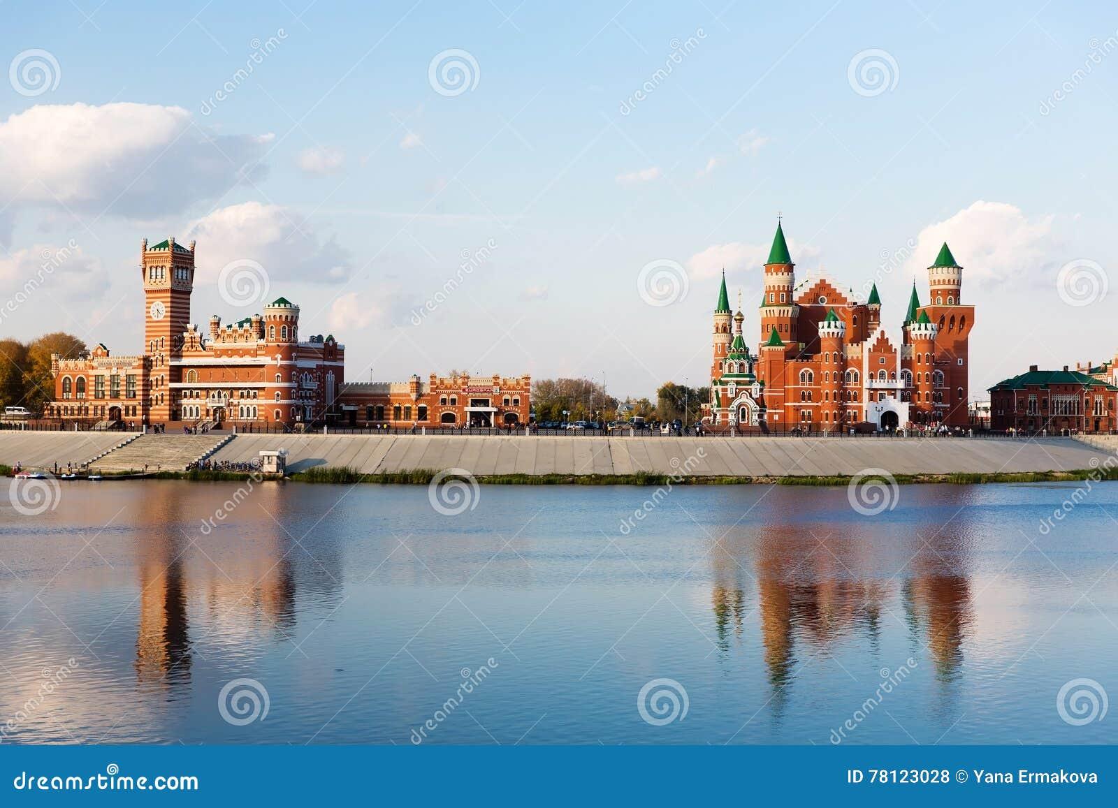 Terraplenagem no Yoshkar-Ola Rússia