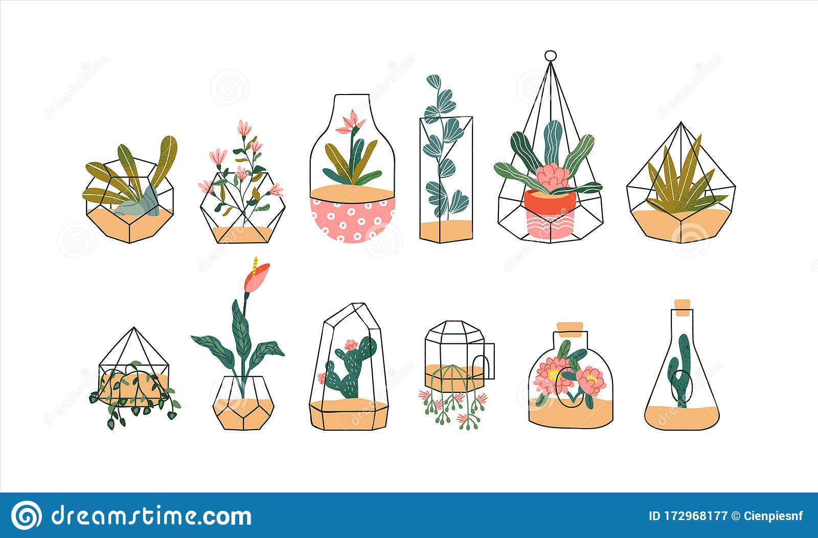 Terrarium Doodle Stock Illustrations 438 Terrarium Doodle Stock Illustrations Vectors Clipart Dreamstime