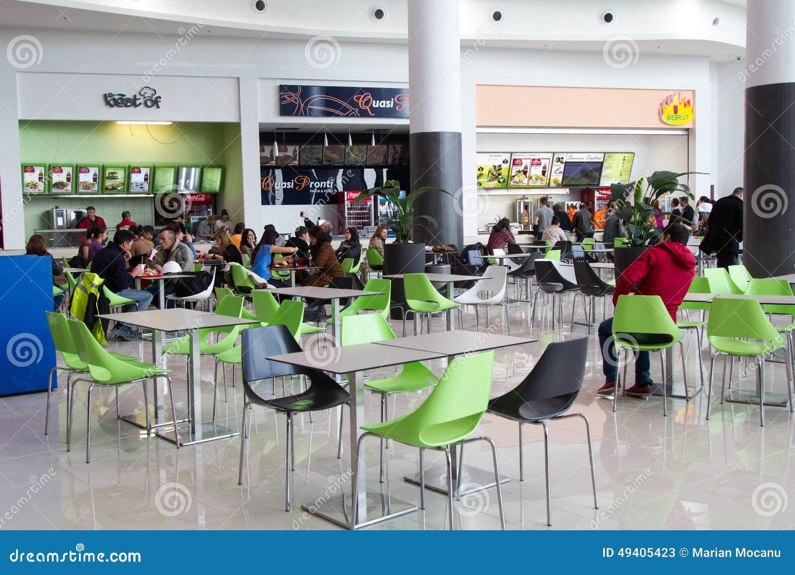 Download Terrasse Innerhalb Des Malls Redaktionelles Stockfoto - Bild von kommerziell, wirtschaftlichkeit: 49405423