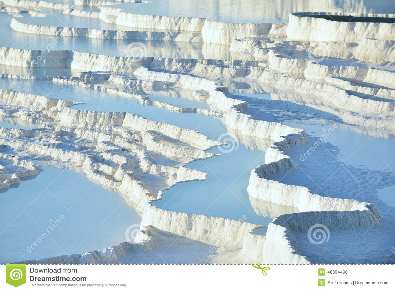 Terrasses de travertin de Pamukkale