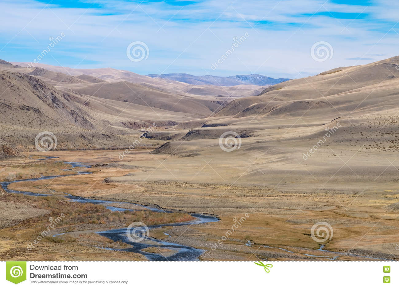 Terraza Fluvial Foto De Archivo Imagen De Orilla Erosión