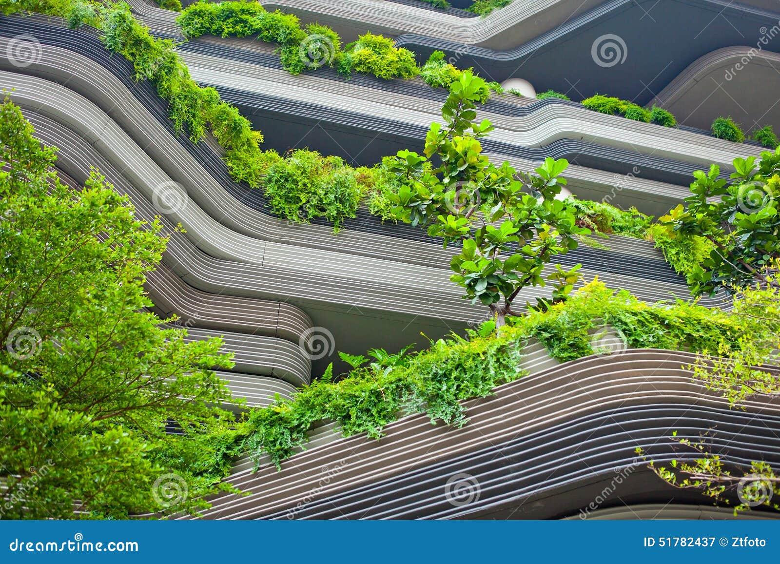 Terrazzi moderni immagine stock. Immagine di estate, casa - 51782437