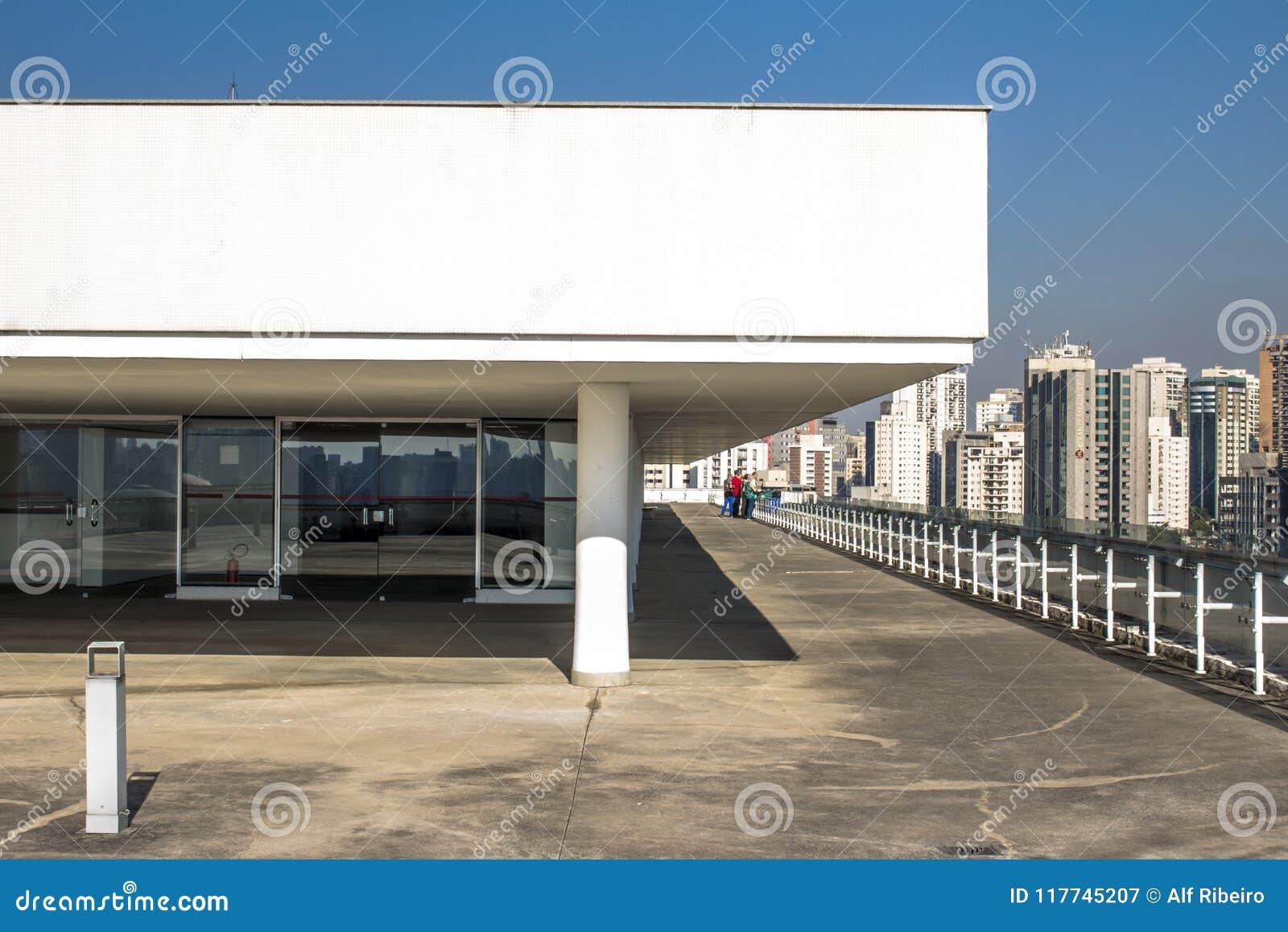 Terrazzo del museo di arte moderno