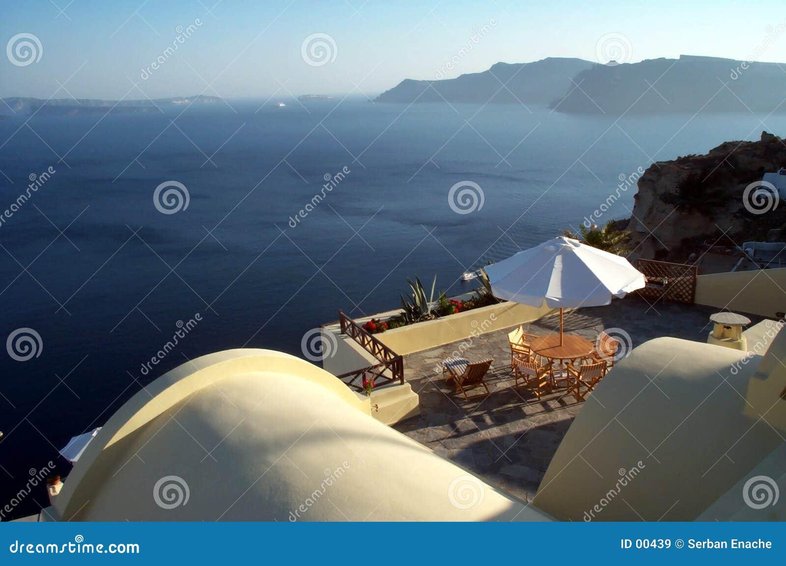 Terrazzo della caldera - Santorini