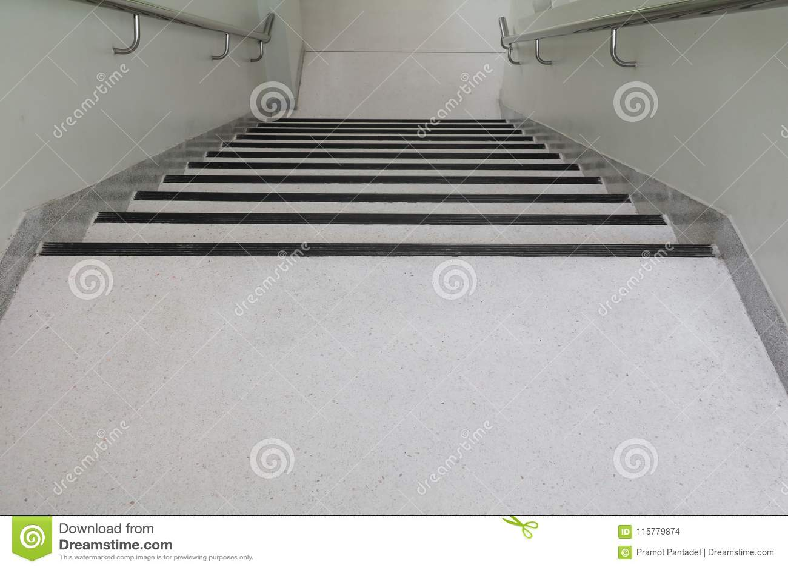 Terrazzo Floor Stairs Walkway Down