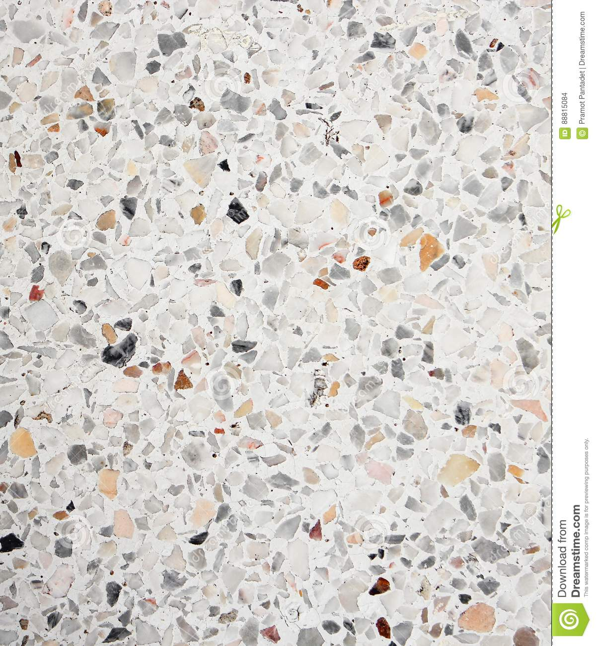 Terrazzo Floor Texture Polished Stone Pattern Wall And
