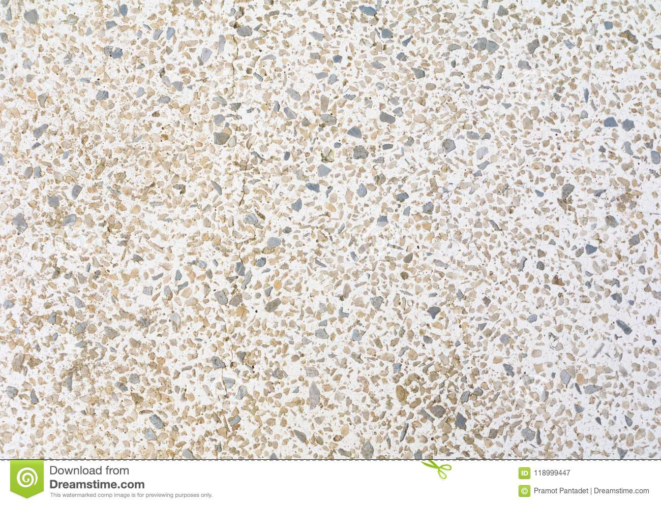 Download Terrazzo Flooring Pattern Old Texture Small Stone Black And Crack Cement White Background With Copy