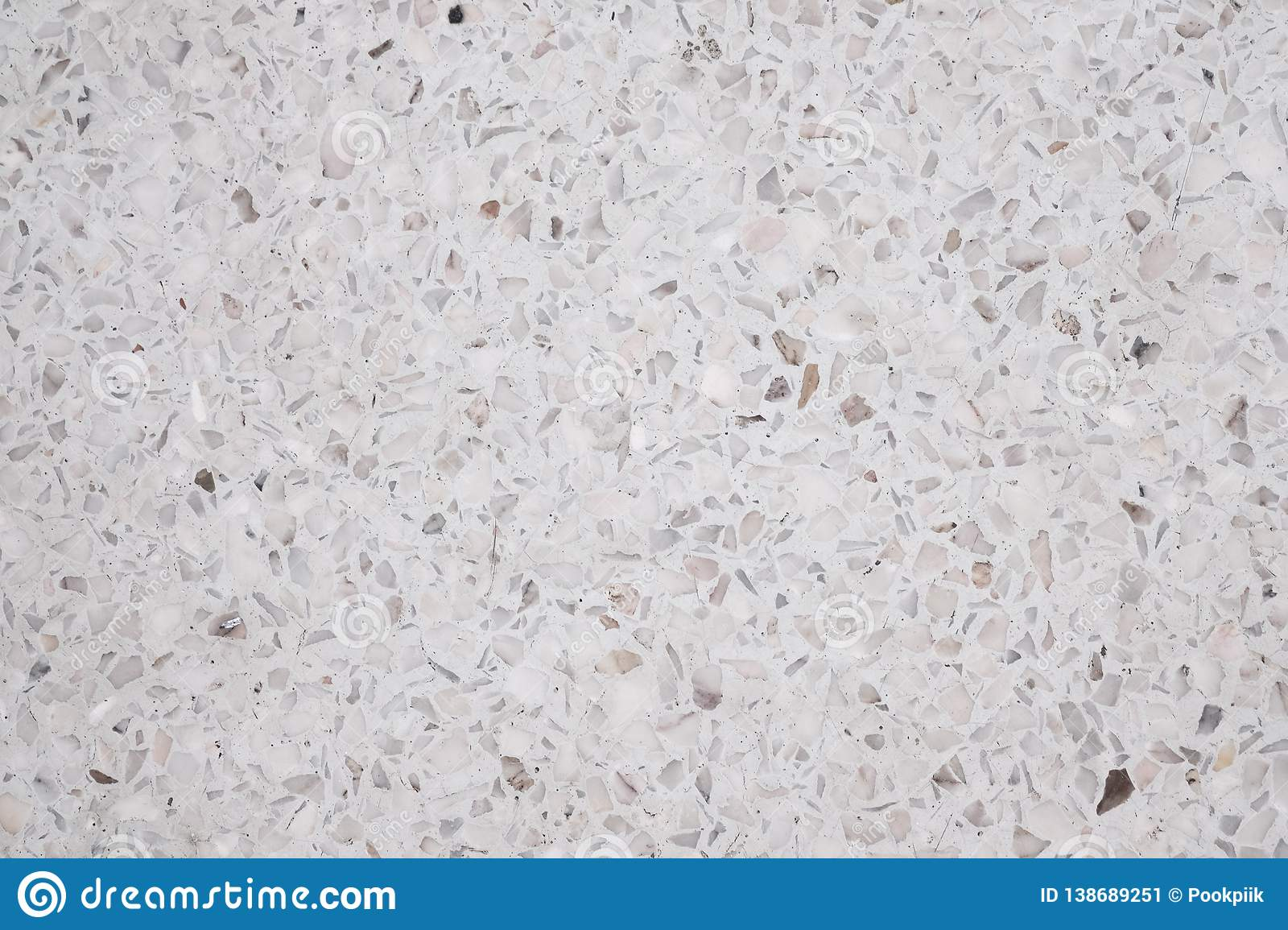 Terrazzo polished stone floor and wall pattern and color surface marble and granite stone, material for decoration background