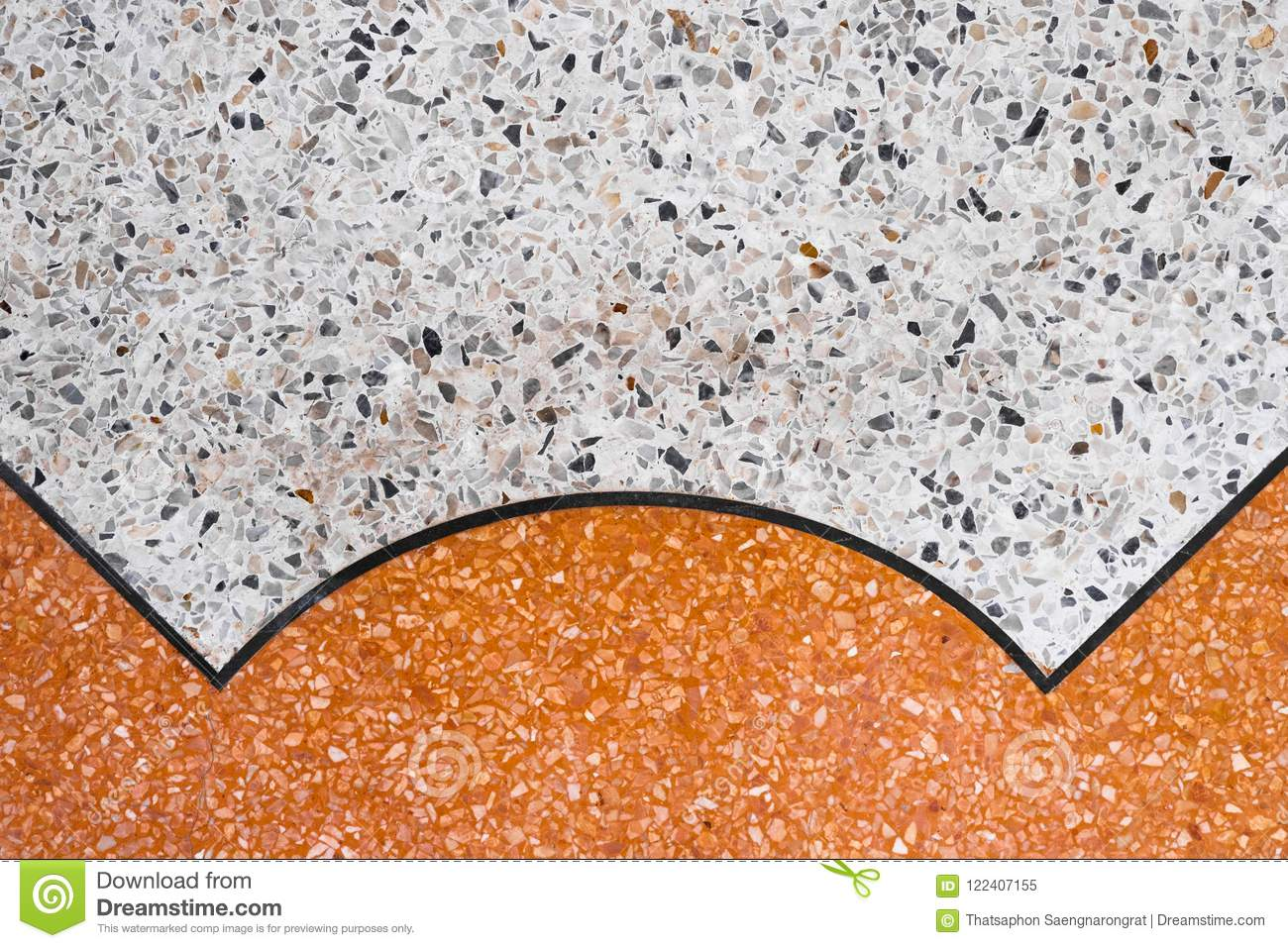 Download Terrazzo Polished Stone Floor And Wall Pattern Color Surface Stock Image