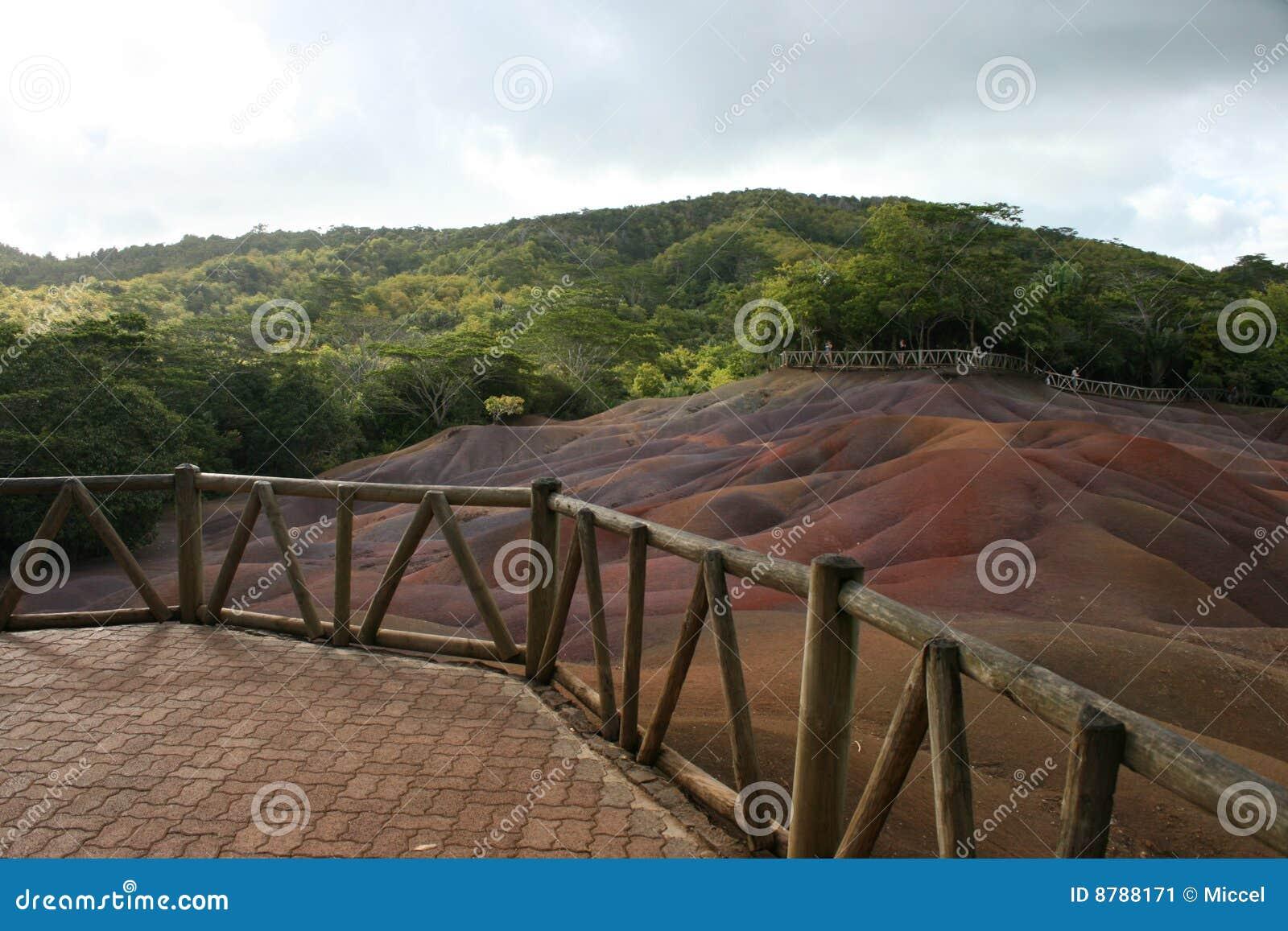 Terrazzo sui sette colori